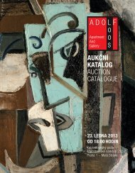 AUKČNÍ KATALOG AUCTION CATALOGUE - Loos