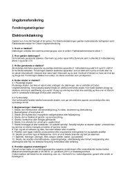 Ungdomsforsikring Elektronikdækning - Codan Forsikring A/S