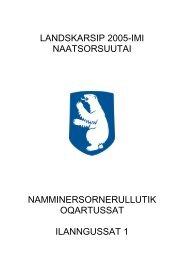 Ilanngussaq maani atuaruk (PDF-FIL) - Inatsisartut