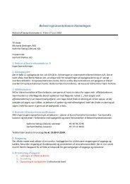 Referat af bestyrelsesmøde nr. 9 den 17. juni 2010