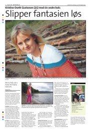 Kristine i Lierposten 22.09.11 - Panthera Publishing AS