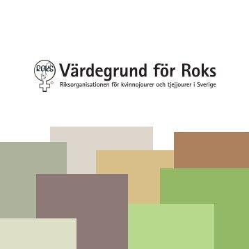 Värdegrund för Roks