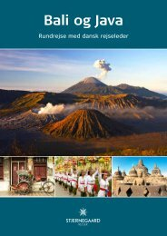Bali og Java - Stjernegaard Rejser