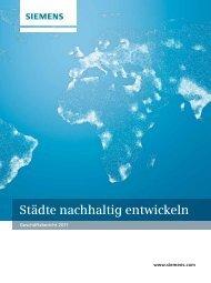 Siemens-Geschäftsbericht 2011, Unternehmensbericht