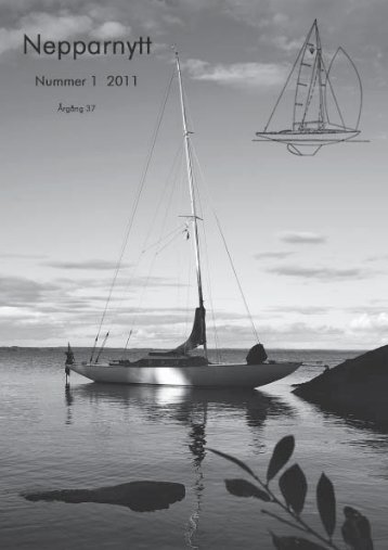 Nepparnytt nr 1 2011 - Anderssons Träbåtar