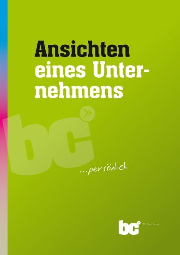 ... personlich.. ... personlich - BC Directgroup Gmbh