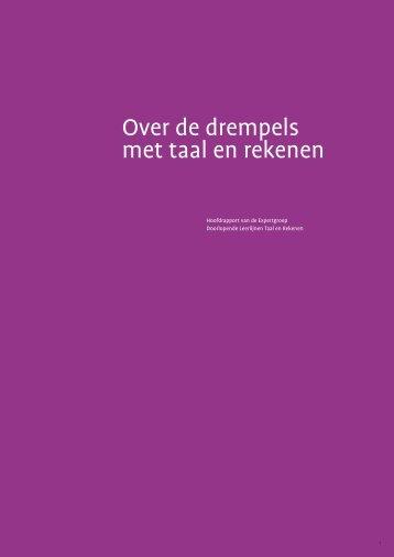 Rapport Meijering - Nederlandse Vereniging van Wiskundeleraren