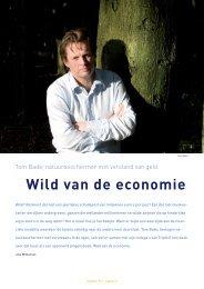 Lees ook het interview dat Zoogdier had met auteur Tom Bade (PDF)
