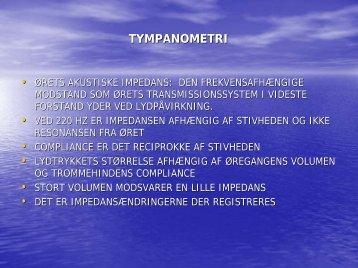 TYMPANOMETRI