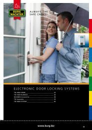 electronic door locking systems - Sikkerhet & Design AS