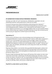 PRESSEMEDDELELSE - Ekstra Bladet