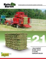 Brochure Bale Baron - Kleine-balen.nl