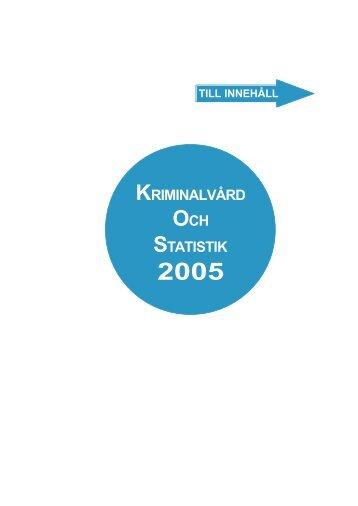 2005 - Kriminalvården