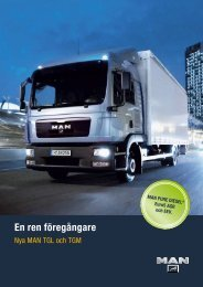 TGL - TGM Broschyr - MAN Truck & Bus Sverige AB