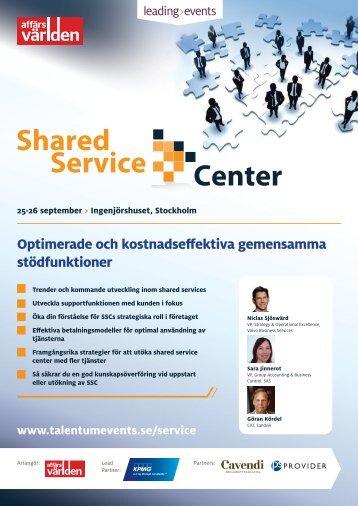 Shared service center.pdf - Talentum Events