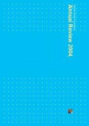 Annual Review 2004 - Quartet Community Foundation