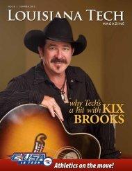 Kix BrooKs - Louisiana Tech University Alumni Association