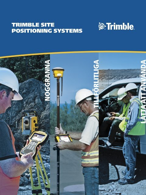 Site Positioning Systems - SITECH Sverige AB