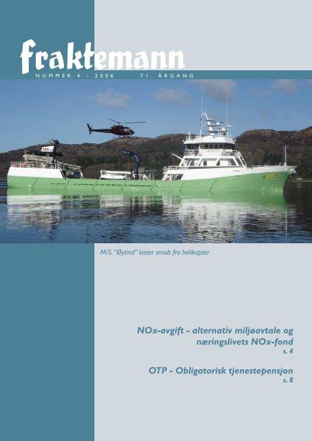 NOx-avgift - alternativ miljøavtale og næringslivets NOx-fond OTP ...