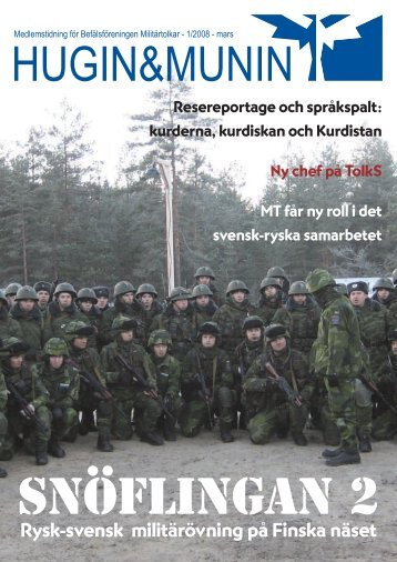 Snöflingan 2 - Befälsföreningen Militärtolkar