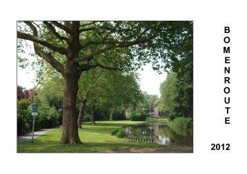 Bomenroute 2012.pdf - Gemeente Purmerend