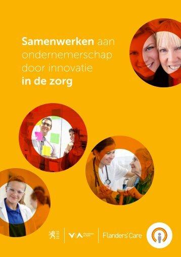 Samenwerken aan ondernemerschap door ... - Flanders' Care