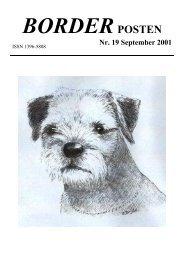 Nr. 19 September 2001 - Border terriers i DTK