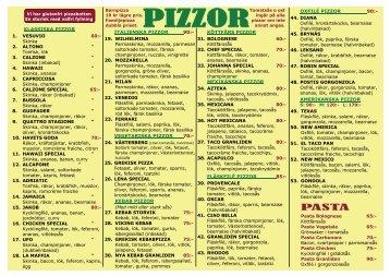 Ladda ner mat/prislistan för avhämtning i PDF format.