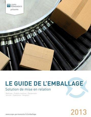Le Guide de l'Emballage 2013