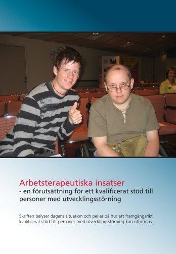 Arbetsterapeutiska insatser - FSA - Akademikerhuset.se