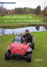 """Från Jokkmokk till """"porten mot Skärgården"""""""
