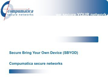 Mw. P. van Schayik (Petra) - Secure Bring Your Own Device - iipvv