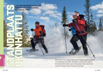 Laps wintersportavontuur rondom het pyhä-Luosto nationaaL park