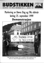 Markering av Døves Dag og FNs eldreår - Velkommen til Bergen ...