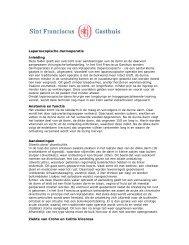Laparoscopische darmoperatie Inleiding Anatomie en functie ...