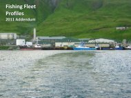 Fishing Fleet Profiles 2011 Addendum - NOAA