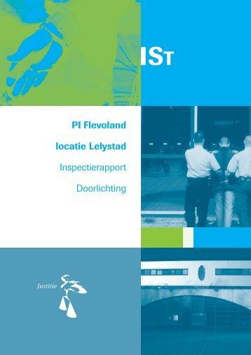Inspectierapport PI Flevoland locatie Lelystad - Inspectie Veiligheid ...