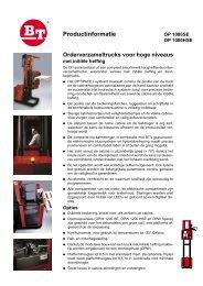 BT OP 1000 SE/HSE brochure