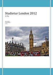 Studietur London 2012