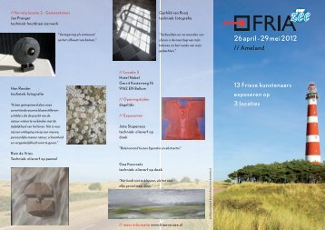 26 april - 29 mei 2012 - Fria over Zee