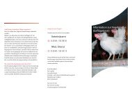 Information zur Vogelgrippe (Geflügelpest) - OSIRIS