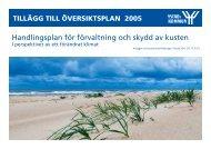 Handlingsplan för förvaltning och skydd av kusten - Ystads kommun