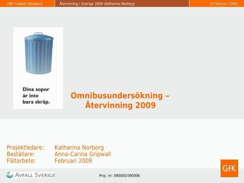 Återvinning 2009 - Mynewsdesk