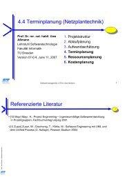 Beispiel - Lehrstuhl für Softwaretechnologie