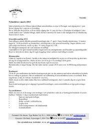 Nyhedsbrev marts 2013 - Seniorklubben TDC Jylland
