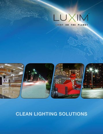 Clean lighting SolutionS