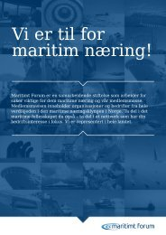 MF-Bli-medlem - Maritimt Forum