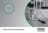 Prisliste 2010 Nilfisk-Frithiof centralstøvsugere - Nilfisk-ALTO