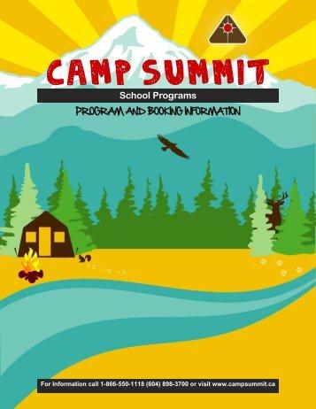 SOEC Info Package - Camp Summit