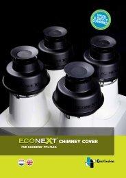 ECONEXT Chimney cover for CoxDENS Flex